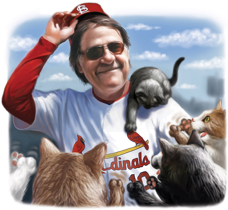 Tony LaRussa and Cats